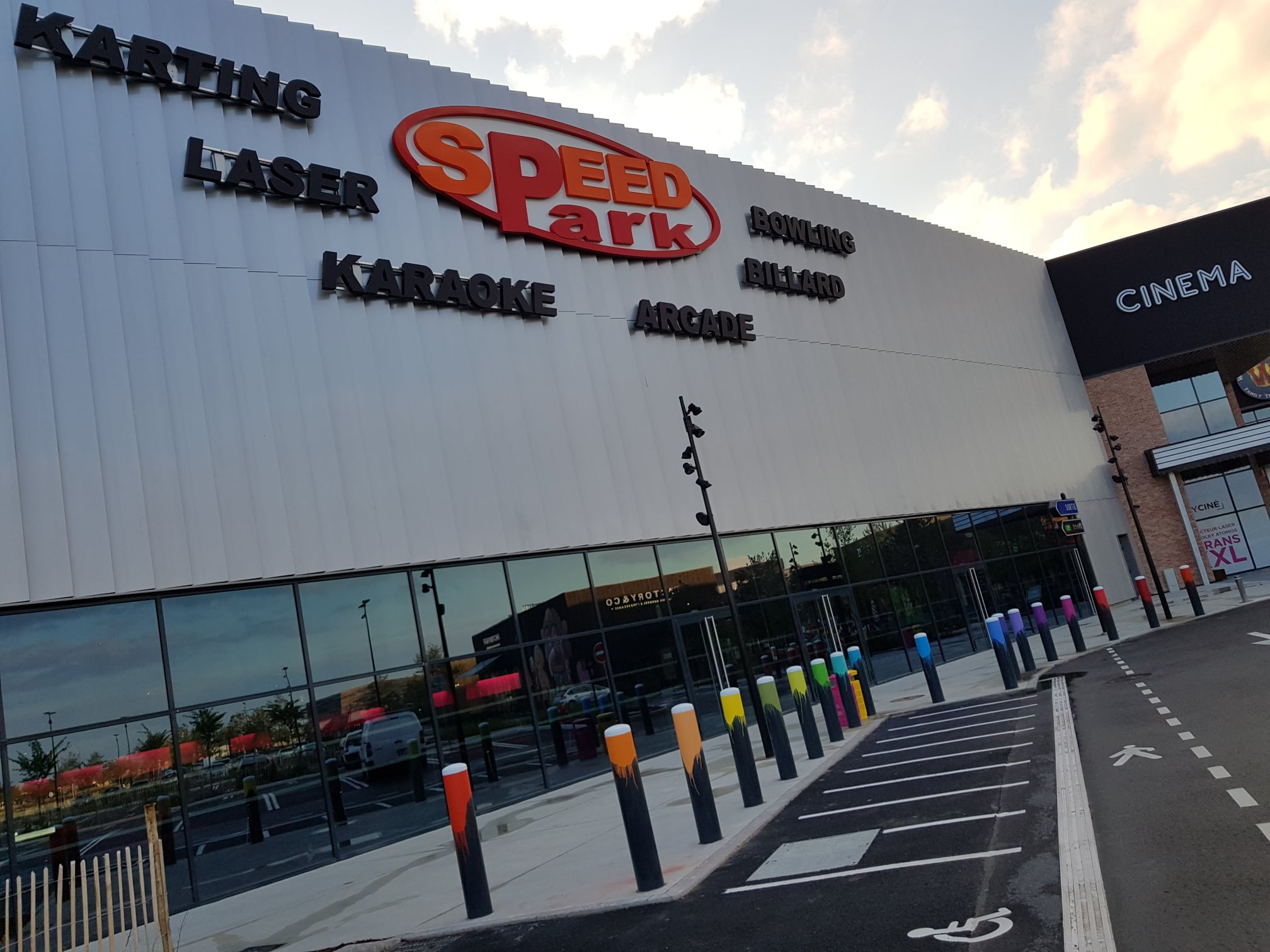 Speedpark est prêt à vous accueillir !